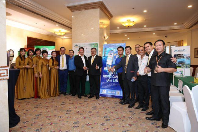 Các doanh nghiệp tham gia hoạt động kết nối kinh doanh