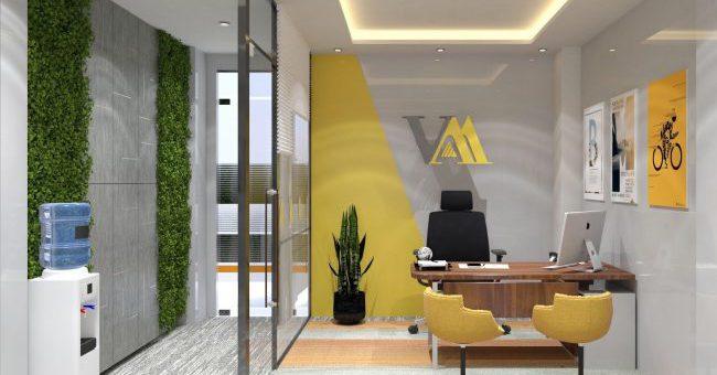 Văn phòng Việt Á Real: điểm nhấn nhận diện thương hiệu