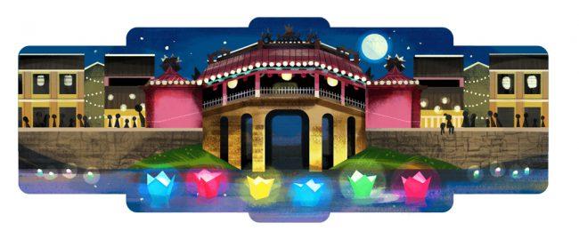 Phố cổ Hội An, điểm đến du lịch tốt nhất thế giới lần đầu xuất hiện trên Google Doodles