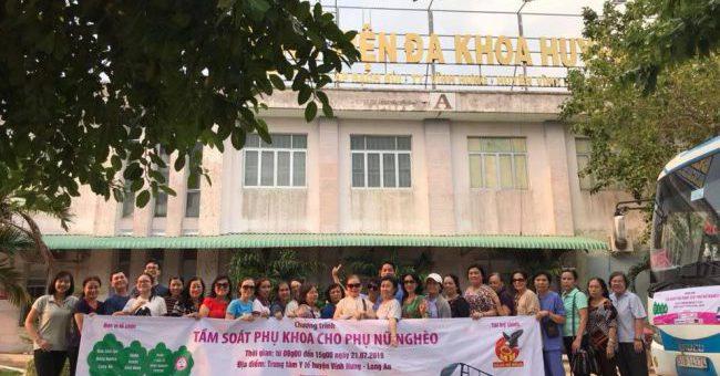 FSmart đồng hành cùng chương trình Tầm soát phụ khoa cho phụ nữ nghèo