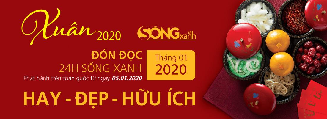 ấn phẩm 24hsongxanh xuân 2020