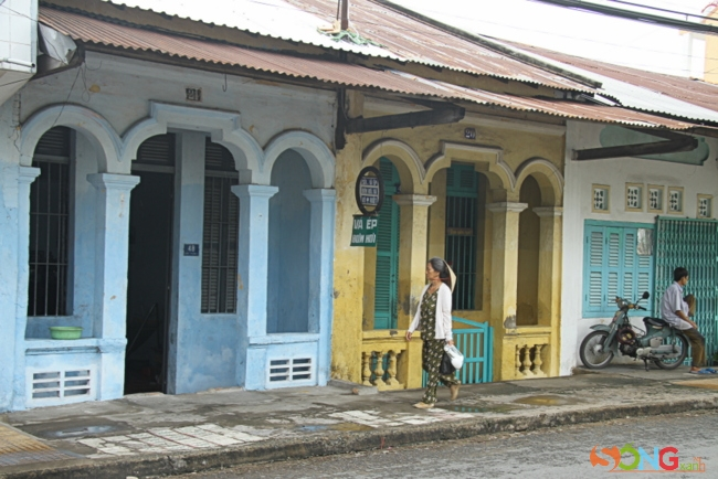 Sa Đéc là một trong số ít thành phố còn nhà cổ nhiều ở miền Tây.