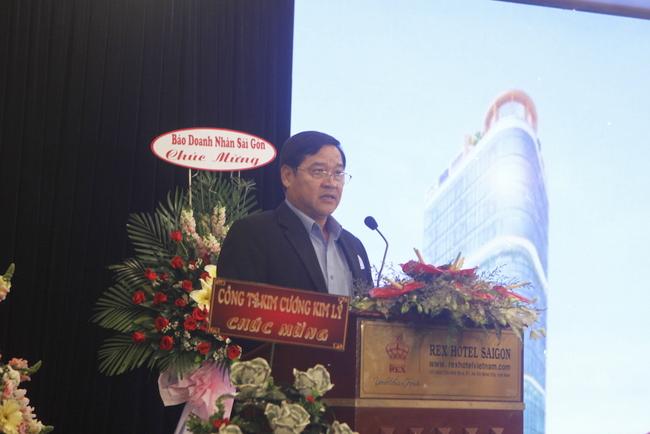 Chủ tịch Hiệp hội Doanh nghiệp TP.HCM Chu Tiến Dũng.