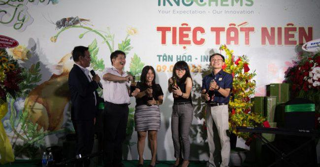 Tiệc tất niên công ty TNHH TM-SX Tân Hóa