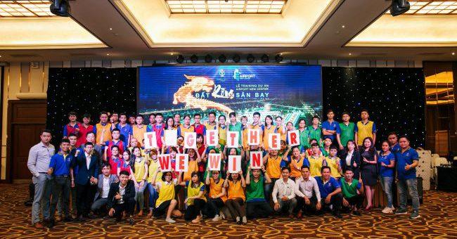 FSmart đồng hành cùng Lễ training dự án Airport New Center của Cường Thịnh Corp