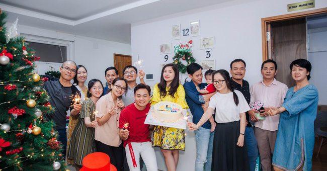 FSmart kỷ niệm 6 năm thành lập kết hợp chúc mừng Giáng Sinh